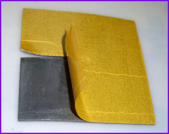 Bleitapete Bleifolie Walzblei selbstklebend 2,0 x 1,0 Meter Strahlenschutz lwph